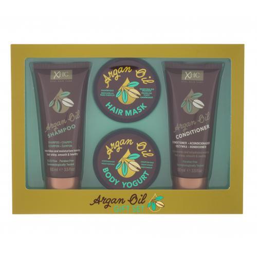 Xpel Argan Oil darčeková kazeta pre ženy šampón Argan Oil 100 ml + kondicionér Argan Oil 100 ml + telový jogurt Argan Oil 50 g + maska na vlasy Argan Oil 50 g