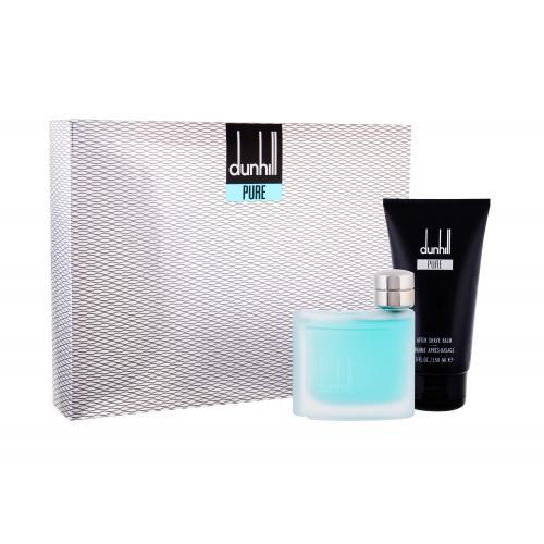 Dunhill Pure darčeková kazeta pre mužov toaletná voda 75 ml + balzam po holení 150 ml