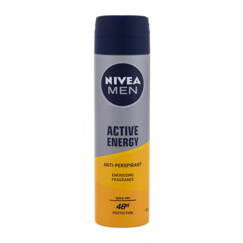 Nivea Men Active Energy 48H 150 ml antiperspirant deospray pre mužov