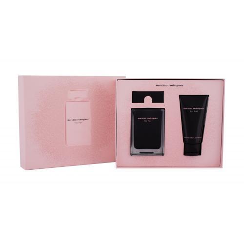 Narciso Rodriguez For Her darčeková kazeta pre ženy toaletná voda 50 ml + telové mlieko 50 ml