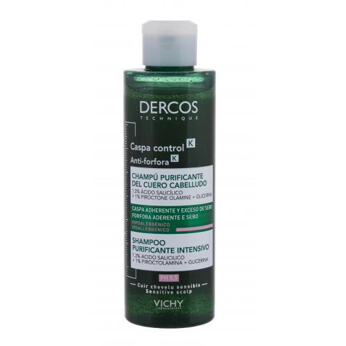 Vichy Dercos Anti-Dandruff Deep Purifying 250 ml peelingový šampón proti lupinám pre ženy