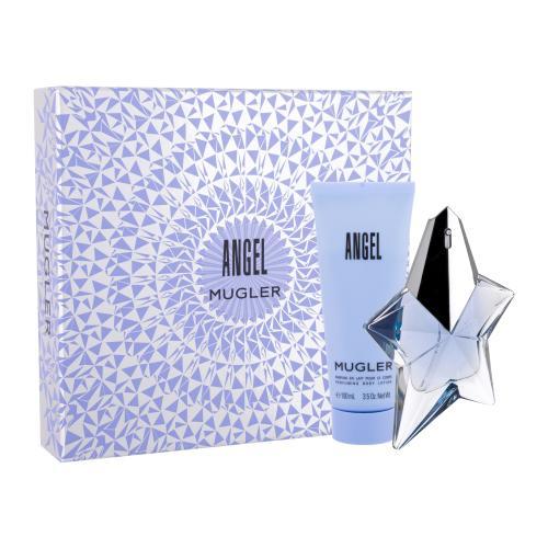 Thierry Mugler Angel darčeková kazeta Naplniteľný pre ženy parfumovaná voda 50 ml + telové mlieko 100 ml