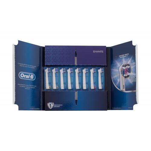 Oral-B 3D White 8 ks náhradné hlavice na elektrickú zubnú kefku unisex