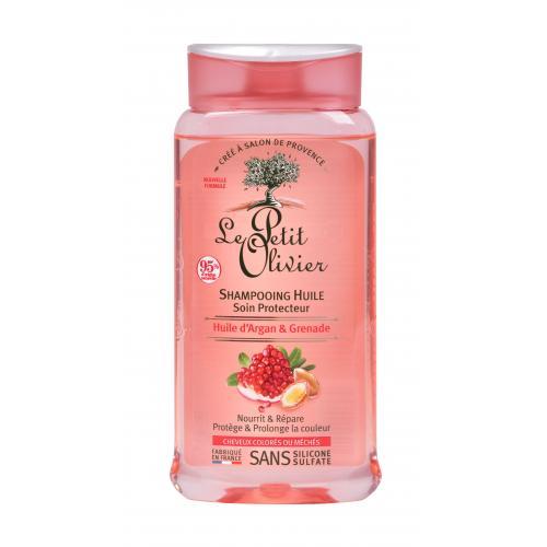 Le Petit Olivier Argan Oil & Pomegranate Protective 250 ml šampón pre farbené vlasy pre ženy