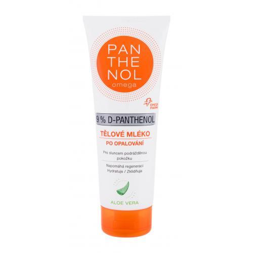 Panthenol Omega 9% D-Panthenol After-Sun Lotion Aloe Vera 250 ml upokojujúce telové mlieko po opaľovaní unisex