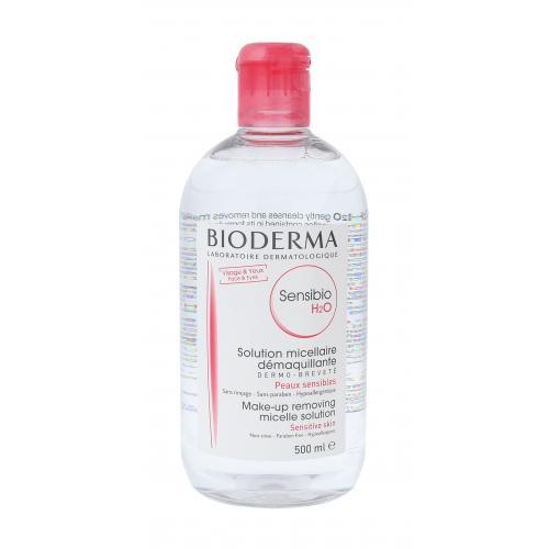 BIODERMA Sensibio H2O 500 ml micelárna voda pre citlivú pleť pre ženy
