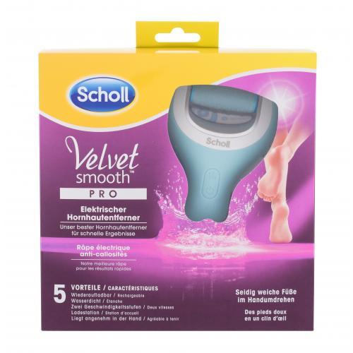 Scholl Velvet Smooth Pro 1 ks vodoodolný elektrický pilník na chodidlá pre ženy