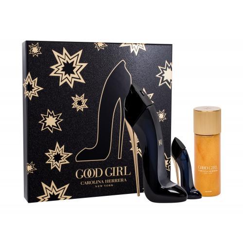 Carolina Herrera Good Girl darčeková kazeta pre ženy parfumovaná voda 50 ml + telový olej 100 ml + parfumovaná voda 7 ml