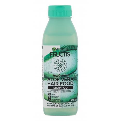 Garnier Fructis Hair Food Aloe Vera 350 ml hydratačný šampón na normálne až suché vlasy pre ženy