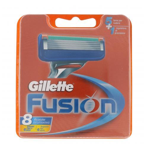 Gillette Fusion 8 ks náhradné ostrie pre mužov