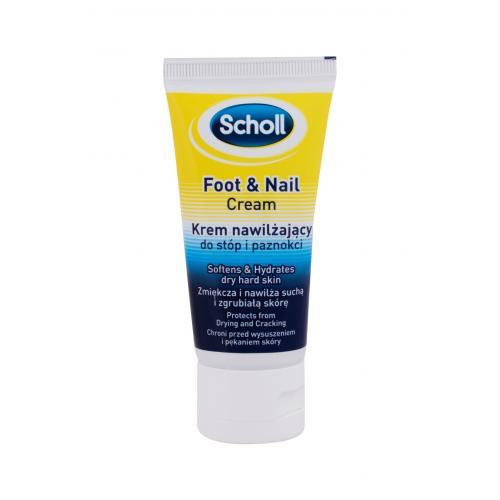 Scholl Foot & Nail 60 ml hydratačný a zmäkčujúci krém na pokožku nechtov a nechty unisex