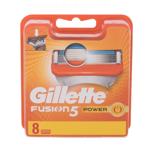 Gillette Fusion 5 Power 8 ks náhradné ostrie poškodená krabička pre mužov