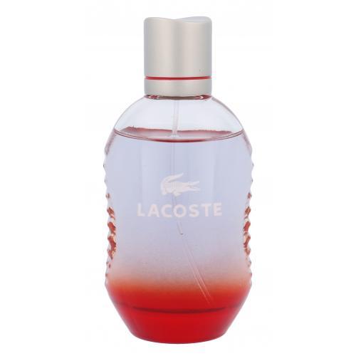 Lacoste Red 75 ml toaletná voda poškodená krabička pre mužov