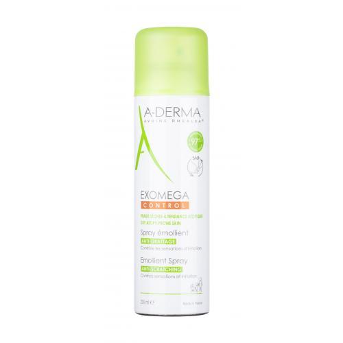 A-Derma Exomega Control Emollient Spray 200 ml upokojujúci sprej na suchú pokožku so sklonom k atopickému ekzému unisex