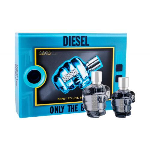 Diesel Only The Brave darčeková kazeta poškodená krabička pre mužov toaletná voda 75 ml + toaletná voda 35 ml