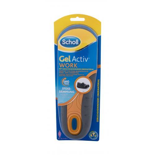 Scholl Gel Active Work 1 ks gélové vložky do topánok na šport 35,5 - 40,5 eu pre ženy