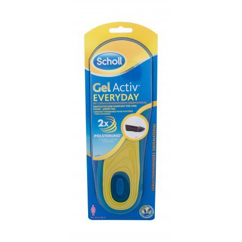 Scholl Gel Active Everyday 1 ks gélové vložky do topánok na šport 35,5 - 40,5 eu pre ženy
