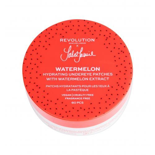 Revolution Skincare X Jake-Jamie Watermelon 60 ks hydratačné vankúšiky pod oči pre ženy
