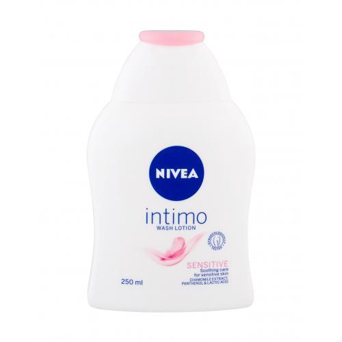Nivea Intimo Intimate Wash Lotion Sensitive 250 ml sprchovacia emulzia pre intímnu hygienu pre ženy