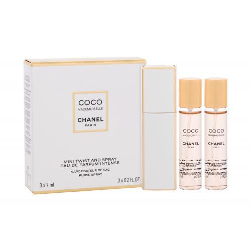 Chanel Coco Mademoiselle Intense 3x7 ml parfumovaná voda pre ženy miniatura