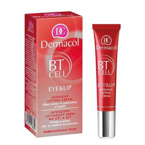 Dermacol BT Cell Eye&Lip Intensive Lifting Cream 15 ml liftingový krém na oči a pery pre ženy