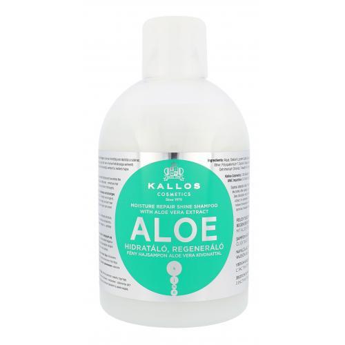 Kallos Cosmetics Aloe Vera 1000 ml posilňujúci šampón pre objem vlasov pre ženy