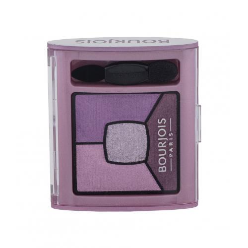 BOURJOIS Paris Smoky Stories Quad Eyeshadow Palette 3,2 g paletka očných tieňov pre ženy 07 In Mauve Again