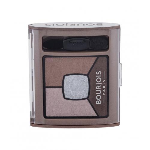 BOURJOIS Paris Smoky Stories Quad Eyeshadow Palette 3,2 g paletka očných tieňov pre ženy 05 Good Nude