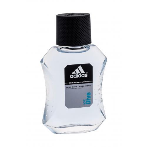 Adidas Ice Dive 100 ml voda po holení poškodená krabička pre mužov