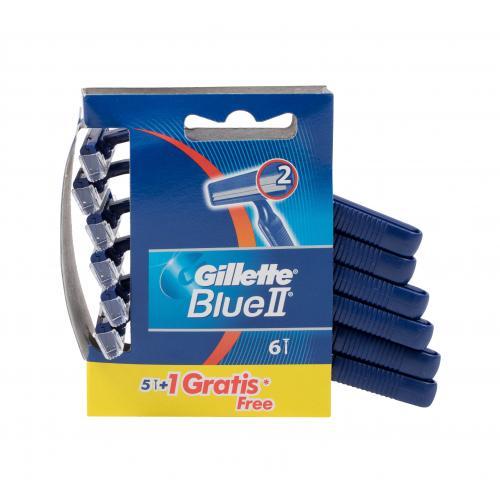 Gillette Blue II 6 ks jednorazové holiace strojčeky pre mužov