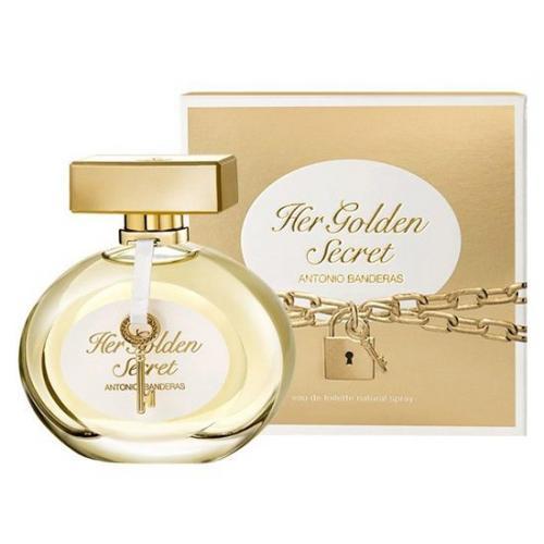 Antonio Banderas Her Golden Secret 80 ml toaletná voda tester pre ženy