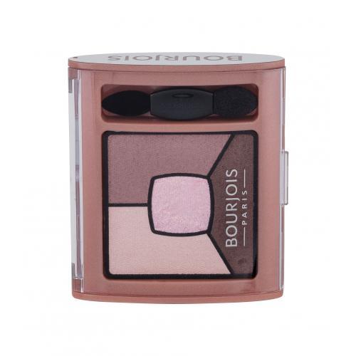 BOURJOIS Paris Smoky Stories Quad Eyeshadow Palette 3,2 g očný tieň pre ženy 02 Over Rose