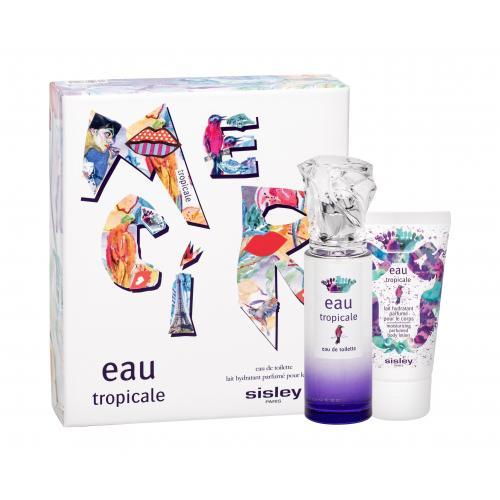 Sisley Eau Tropicale darčeková kazeta pre ženy toaletná voda 50 ml + telové mlieko 50 ml