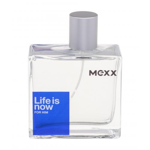 Mexx Life Is Now For Him 75 ml toaletná voda pre mužov