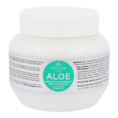 Kallos Cosmetics Aloe Vera 275 ml regeneračná maska pre poškodené vlasy pre ženy