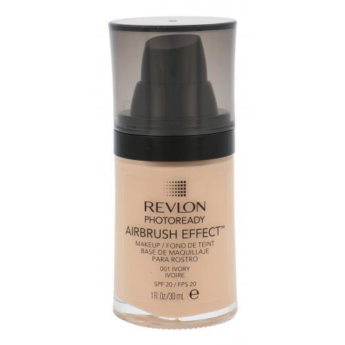 Revlon Photoready Airbrush Effect SPF20 30 ml ľahký tekutý make-up pre ženy 001 Ivory