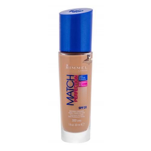 Rimmel London Match Perfection SPF20 30 ml tekutý make-up pre ženy 201 Classic Beige