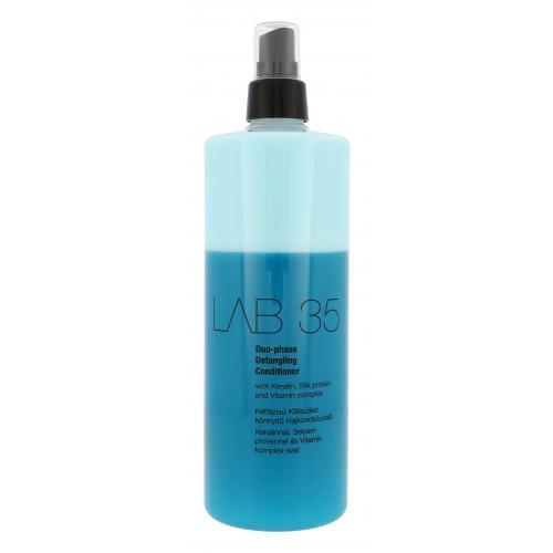 Kallos Cosmetics Lab 35 Duo-Phase Detangling 500 ml kondicionér pre ľahké rozčesávanie pre ženy