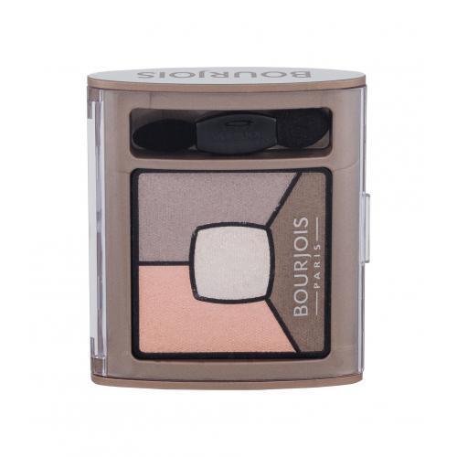 BOURJOIS Paris Smoky Stories Quad Eyeshadow Palette 3,2 g očný tieň pre ženy 12 Sau-Mondaine