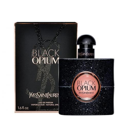 Yves Saint Laurent Black Opium 50 ml parfumovaná voda poškodená krabička pre ženy