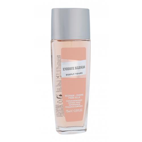 Enrique Iglesias Deeply Yours Woman 75 ml dezodorant deospray pre ženy