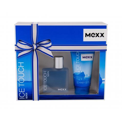 Mexx Ice Touch Man 2014 darčeková kazeta pre mužov toaletná voda 30 ml + sprchovací gél 50 ml