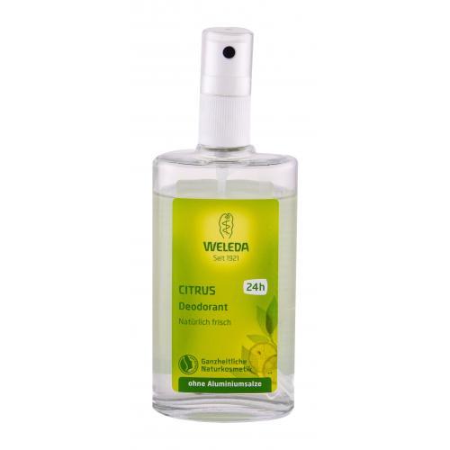 Weleda Citrus 100 ml citrusový deodorant bez hliníkových solí pre ženy