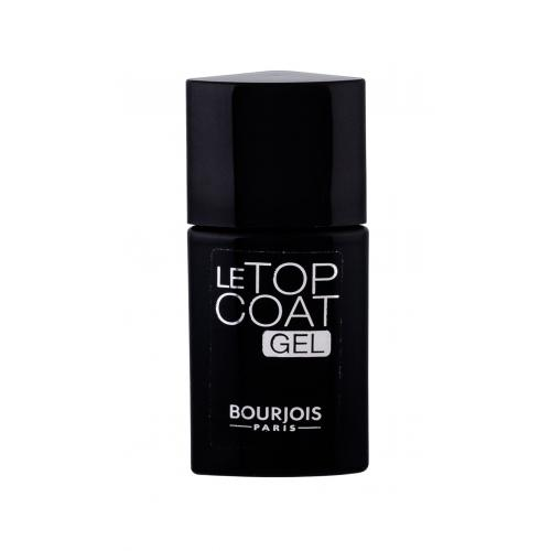 BOURJOIS Paris La Laque Gel Top Coat 10 ml vrchný gélový lak na nechty pre ženy