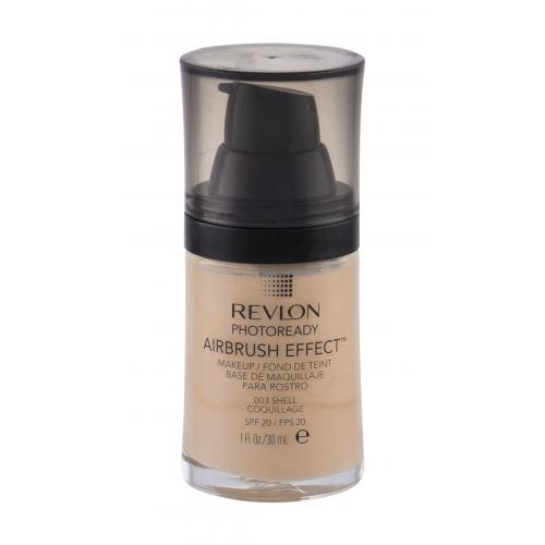 Revlon Photoready Airbrush Effect SPF20 30 ml ľahký tekutý make-up pre ženy 003 Shell