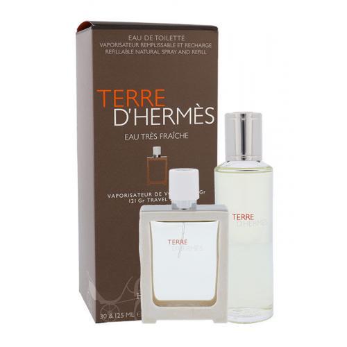 Hermes Terre D´Hermès Eau Très Fraîche darčeková kazeta pre mužov toaletná voda 30 ml + toaletná voda náplň 125 ml