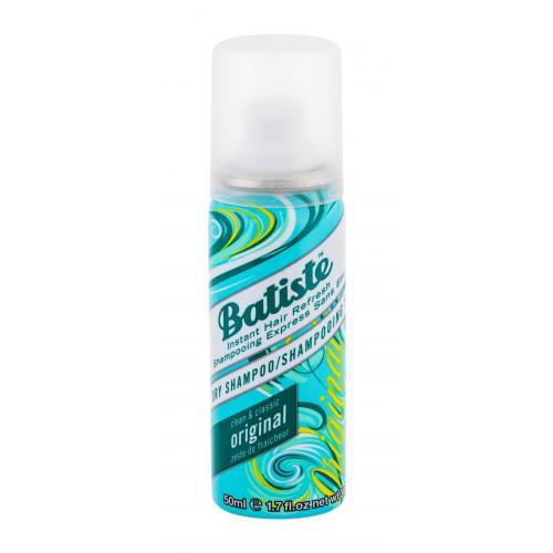 Batiste Original 50 ml suchý šampón s jemnou sviežou vôňou pre ženy