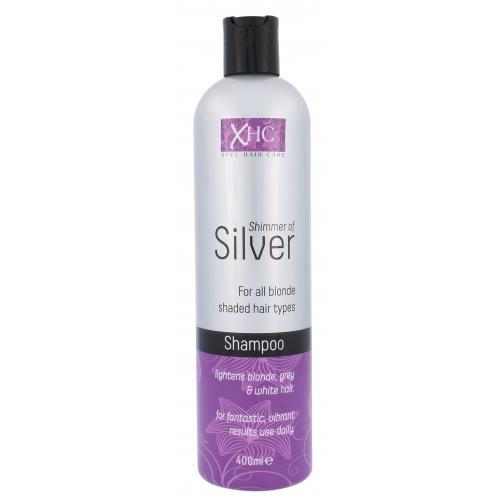 Xpel Shimmer Of Silver 400 ml šampón pre šedivé a blond vlasy pre ženy