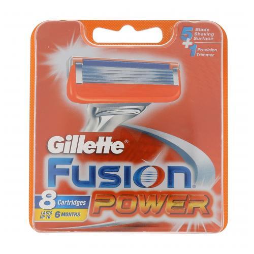 Gillette Fusion Power 8 ks náhradné ostrie pre mužov