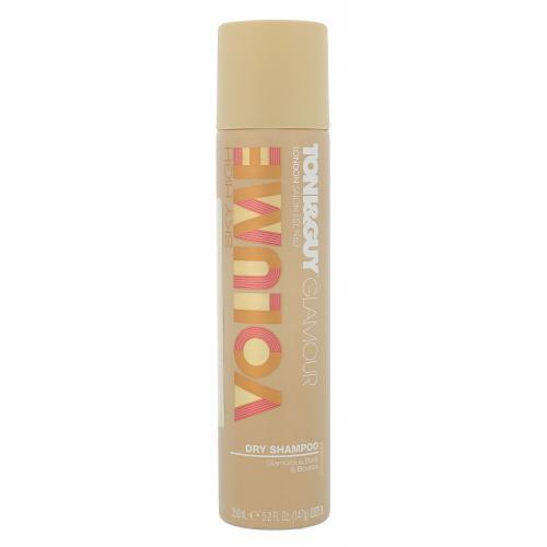 TONI&GUY Glamour Sky High Volume 250 ml suchý šampón pre ženy